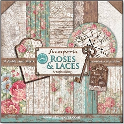 Stamperia - Roses & Laces - Paper Pack