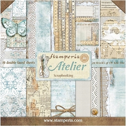 Stamperia - Atelier - Paper Pack