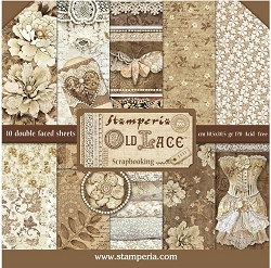 Stamperia - Old Lace - Paper Pack