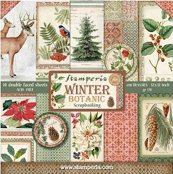 Stamperia - Winter Botanic - Paper Pack