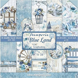 Stamperia - Blue Land - Paper Pack