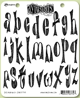 Dylusions - Cling Rubber Stamps - Dy's Alphabet