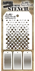 Stamper's Anonymous / Tim Holtz - Mini Layering Stencils - Set #39
