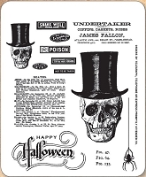 Stamper's Anonymous / Tim Holtz - Cling Mounted Rubber Stamp Set - Undertaker