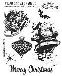Tim Holtz-Cling Rubber Stamp Set-Christmas Memories :)