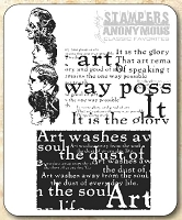 Tim Holtz Stamper's Anonymous Classics- Cling Rubber Stamp Set -  Classics # 4