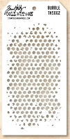 Stamper's Anonymous / Tim Holtz - Layering Stencil - Bubble