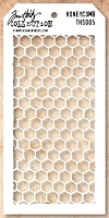 Stamper's Anonymous / Tim Holtz - Layering Stencil - Honeycomb