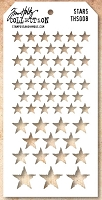 Stamper's Anonymous / Tim Holtz - Layering Stencil - Stars