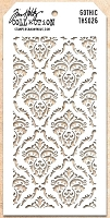 Stamper's Anonymous / Tim Holtz - Layering Stencil - Gothic
