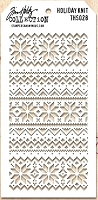 Stamper's Anonymous / Tim Holtz - Layering Stencil - Holiday Knit