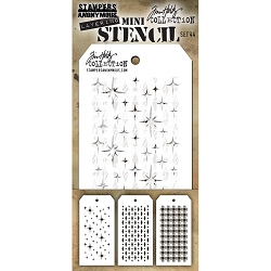 Stamper's Anonymous/Tim Holtz - Mini Layering Stencils - Set #44
