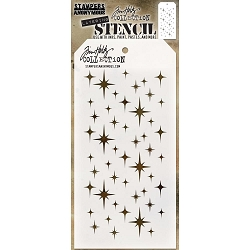 Stamper's Anonymous/Tim Holtz - Layering Stencil - Sparkle