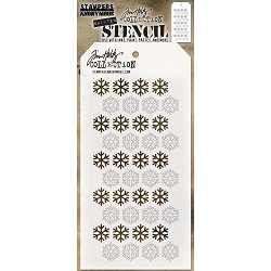 Stamper's Anonymous/Tim Holtz - Layering Stencil - Shifter Snowflake