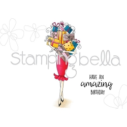 Stamping Bella - Cling Rubber Stamp - Giftabella