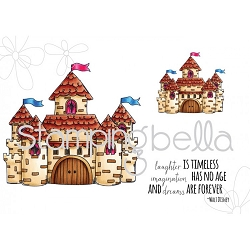 Stamping Bella - Cling Rubber Stamp - Fairy Tale Squidgie Castle