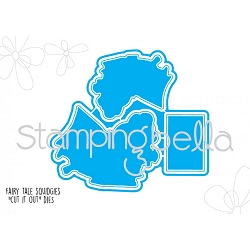 Stamping Bella - Cutting Dies - Fairy Tale Squidgies CUT IT OUT dies