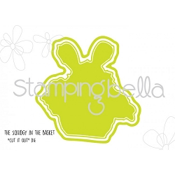 Stamping Bella - Cutting Dies - Squidgy In A Basket CUT IT OUT dies