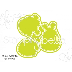 Stamping Bella - Cutting Dies - Easter Trio Squidgy CUT IT OUT dies