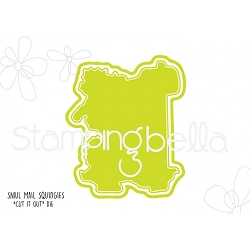 Stamping Bella - Cutting Dies - Snail Mail Squidgies CUT IT OUT dies