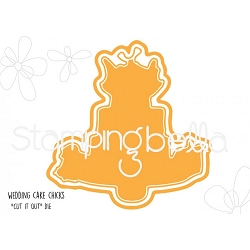 Stamping Bella - Cutting Dies - Wedding Cake Chicks CUT IT OUT dies