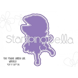 Stamping Bella - Cutting Dies - Tiny Townie Garden Girl Water Lily CUT IT OUT dies