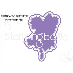 Stamping Bella - Cutting Dies - Tiny Townie Brianna The Butterfly CUT IT OUT dies