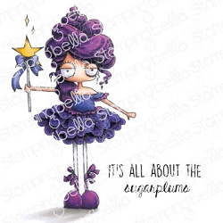 Stamping Bella - Cling Rubber Stamp - Oddball Sugar Plum Fairy