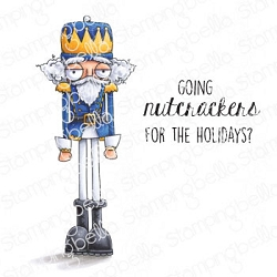 Stamping Bella - Cling Rubber Stamp - Oddball Nutcracker