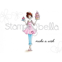 Stamping Bella - Cling Rubber Stamp - Cakeabella