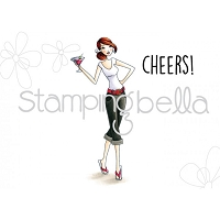 Stamping Bella - Cling Rubber Stamp - Cosmobella