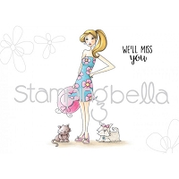 Stamping Bella - Cling Rubber Stamp - Walkabella