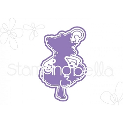 Stamping Bella - Cutting Dies - Tiny Townie Garden Girl Morning Glory CUT IT OUT dies