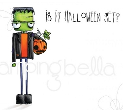 Stamping Bella - Cling Rubber Stamp - Oddball Frankenstein