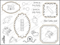 StampingScrapping-Clear Stamp-New Little One