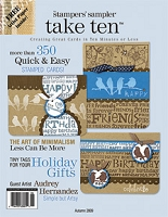 Stampington & Company - Stampers' Sampler - Take Ten - Sep/Oct/Nov 2009