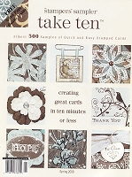 Stampington & Company - Stampers' Sampler - Take Ten - Mar/Apr/May 2008