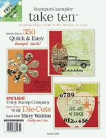 Stampington & Company - Stampers' Sampler - Take Ten - Jun/Jul/Aug 2009