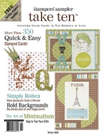Stampington & Company - Stampers' Sampler - Take Ten - Dec/Jan/Feb 2009