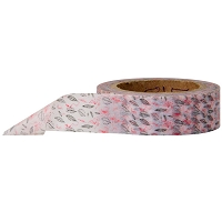 Stampington & Company - Washi Tape - Red and White Floral