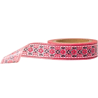 Stampington & Company - Washi Tape - Red Antique Floral