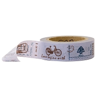 Stampington & Company - Washi Tape - Antique Motors