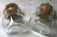 Dangles - Mini Glass Vials - fat