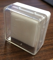 Dry (un-inked) foam ink cube (for pigment ink)
