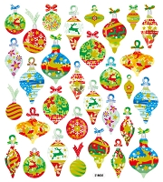 Sticker King-Flat Stickers-Pretty Christmas Ornaments