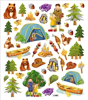 Sticker King-Flat Stickers-Camping