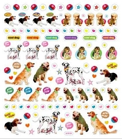Sticker King-Flat Stickers-puppies and dogs