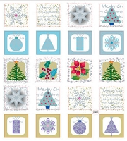 Sticker King-Flat Stickers-Christmas Frames