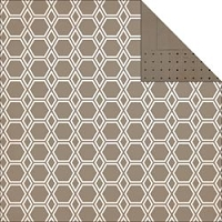 Studio Calico - Classic Calico Collection - 12x12 Paper - Hexed