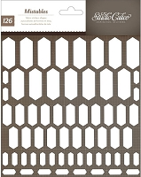 Studio Calico - Mistable Thicker Shapes - Elongated Hexagons :)